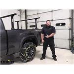 Titan Chain Diamond Alloy Snow Tire Chains Installation - 2021 Toyota Tacoma