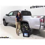 Titan Chain Diamond Alloy Snow Tire Chains Installation - 2020 Toyota Tacoma