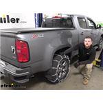 Titan Chain Snow Tire Chains Installation - 2020 Chevrolet Colorado