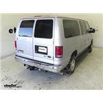 Titan Alloy Snow Tire Chains Installation - 2014 Ford Van