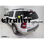 Titan Cable Snow Tire Chain Installation - 2010 Ford Explorer
