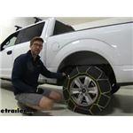Titan Chain Alloy Snow Tire Chains Installation - 2020 Ford F-150
