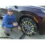 Titan Chain Alloy Snow Tire Chains Installation - 2020 Hyundai Palisade