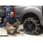 Titan Chain Snow Tire Chains Installation - 2021 Ford Ranger