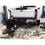 TorkLlift SuperTruss Hitch Extension Installation - 2021 Ford F-450 Super Duty
