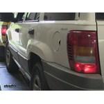 Blue Ox Tail Light Wiring Kit Installation - 1999 Jeep Grand Cherokee