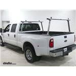 Thule TracRac TracONE Ladder Racks Installation - 2008 Ford F-250 and F-350 Super Duty