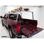 Thule TracRac TracONE Ladder Racks Installation - 2017 Chevrolet Silverado 2500