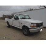 Trailer Hitch Installation - 1996 Ford F-150 - Curt