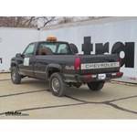 Trailer Hitch Installation - 1998 C/K Series Pickup - Curt