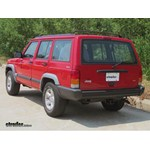 Trailer Hitch Installation - 1998 Jeep Cherokee - Curt