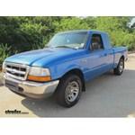 Trailer Hitch Installation - 1999 Ford Ranger - Curt