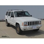 Trailer Hitch Installation - 1999 Jeep Cherokee - Curt