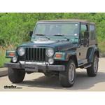 Trailer Hitch Installation - 1999 Jeep Wrangler - Draw-Tite