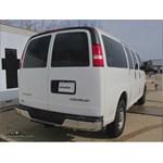 Trailer Hitch Installation - 2004 Chevrolet Express Van - Curt