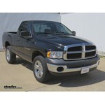 Trailer Hitch Installation - 2004 Dodge Ram Pickup - Draw-Tite