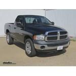 Trailer Hitch Installation - 2004 Dodge Ram Pickup - Curt