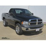 Trailer Hitch Installation - 2004 Dodge Ram Pickup - Curt