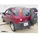 Trailer Hitch Installation - 2004 Honda CR-V - Draw-Tite