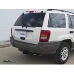 Trailer Hitch Installation - 2004 Jeep Grand Cherokee - Draw-Tite
