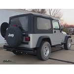 Trailer Hitch Installation - 2004 Jeep Wrangler - Draw-Tite