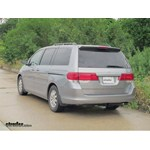Trailer Hitch Installation - 2005 Honda Odyssey - Curt
