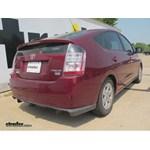 Trailer Hitch Installation - 2005 Toyota Prius - Curt