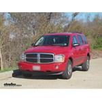 Trailer Hitch Installation - 2006 Dodge Durango - Curt