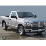 Trailer Hitch Installation - 2006 Dodge Ram - Curt
