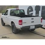 Trailer Hitch Installation - 2006 Ford Ranger - Curt