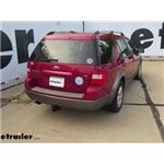 Trailer Hitch Installation - 2007 Ford Freestyle - Draw-Tite