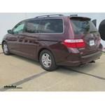 Trailer Hitch Installation - 2007 Honda Odyssey - Curt