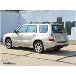 Trailer Hitch Installation - 2007 Subaru Forester - Curt