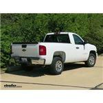 Trailer Hitch Installation - 2008 Chevrolet Silverado - Curt