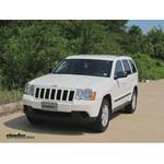 Trailer Hitch Installation - 2008 Jeep Grand Cherokee