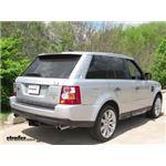 Trailer Hitch Installation - 2008 Land Rover Range Rover Sport - Curt