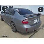 Trailer Hitch Installation - 2008 Subaru Legacy - Draw-Tite