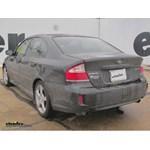 Trailer Hitch Installation - 2009 Subaru Legacy - Draw-Tite