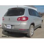 Trailer Hitch Installation - 2009 Volkswagen Tiguan - Draw-Tite