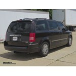 Trailer Hitch Installation - 2010 Chrysler Town and Country - Curt