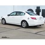 Trailer Hitch Installation - 2010 Honda Accord - Curt