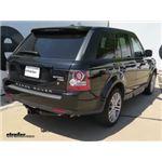 Trailer Hitch Installation - 2010 Land Rover Range Rover Sport - Curt