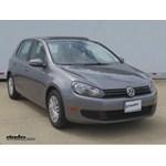 Trailer Hitch Installation - 2010 Volkswagen Golf - Curt