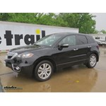 Trailer Hitch Installation - 2011 Acura RDX - Draw-Tite