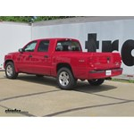 Trailer Hitch Installation - 2011 Dodge Dakota - Curt