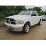 Trailer Hitch Installation - 2011 Dodge Ram - Curt