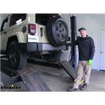 Curt Trailer Hitch Installation - 2011 Jeep Wrangler