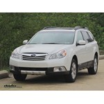 Trailer Hitch Installation - 2011 Subaru Outback Wagon - Draw-Tite