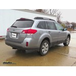 Trailer Hitch Installation - 2011 Subaru Outback Wagon - Curt