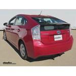 Trailer Hitch Installation - 2011 Toyota Prius - Curt